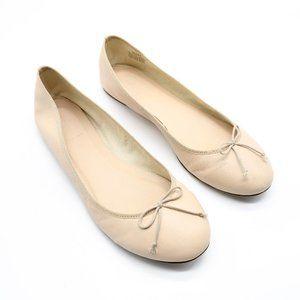 J Crew Coco Cream Ballet Flat 10